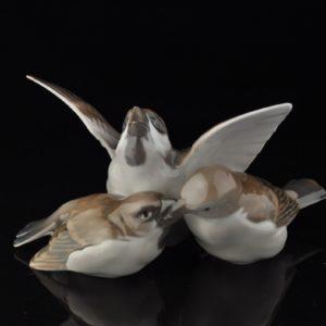 Portselan figuur - Linnud, Taani
