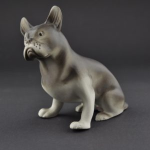 Porcelain figure - dog
