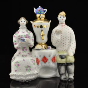 "The shape of a porcelain ""Tea drink"" Kiev 1962-76"