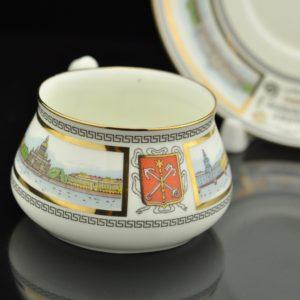 Porcelain cup LFZ Russia