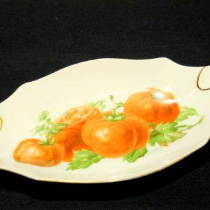 Portselan vaagen tomatiga , Victoria Czechoslovakia
