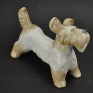 Portselanist koera kuju Terjer, Kiiev MÜÜDUD
