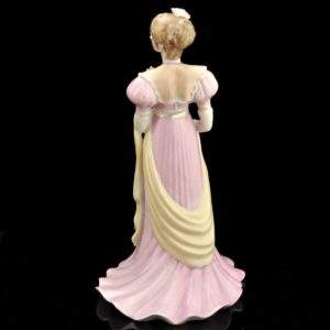 "Porcelain shape ""Lady in pink dress"" Kiev factory 1976-91 a"