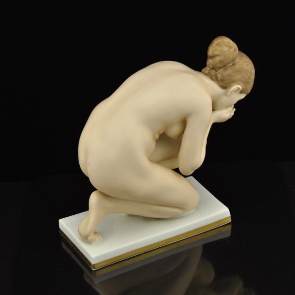 "Porcelain shape ""Sitting Woman"" Rosenthale Selb-Bavaria"