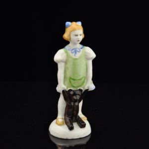 "Porcelain Shape ""Girl with a Bear"""