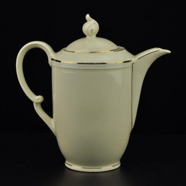 Antique porcelain coffee pot