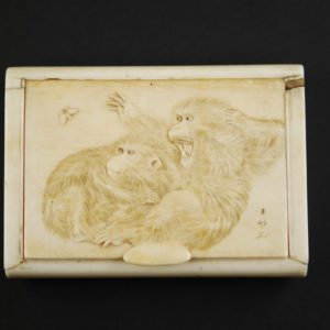 Cigarette Case - ivory