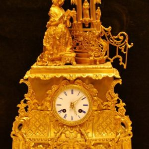 French clock 850.-