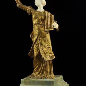 Bronze figure Raphael