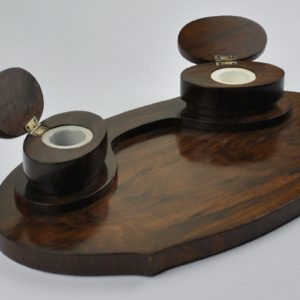 Wooden desk fittings