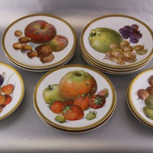 Fruit plates with 4 pieces German