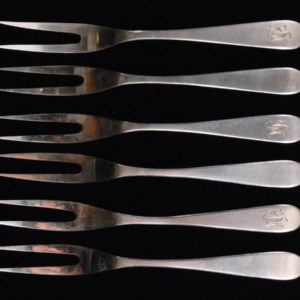 Fruit forks 6pieces.