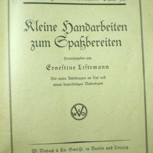 """Raamat Raamat """"Kleine Handarbeiten zum Spassbereiten"""""""