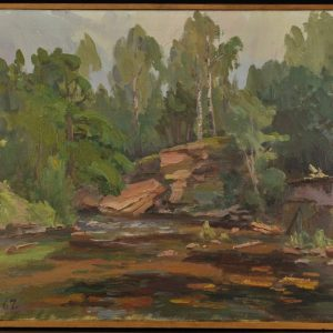 Raivo Vare (1910-1982) oil painting 1967 y