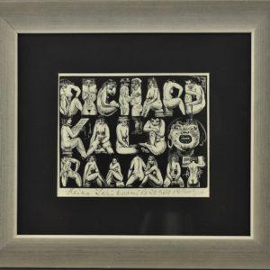 """Richard Kaljo graafika Richard Kaljo raamat"""" 1963a MÜÜDUD"""""""