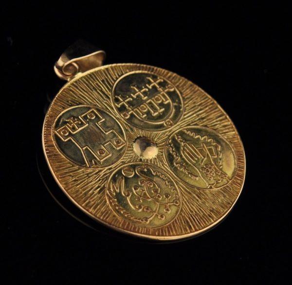 Pendant, 583 gold