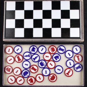 Schach-Dame und Mühle - checkers and chess