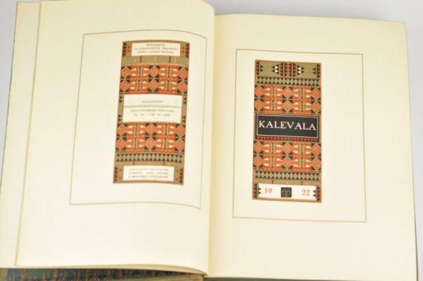 Soome eepos Kalevala nahkköites