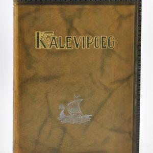 "Taska nahkköites raamat Kalevipoeg""1935a"""