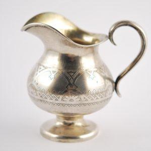 Imperial Russia 84 silver cream jug