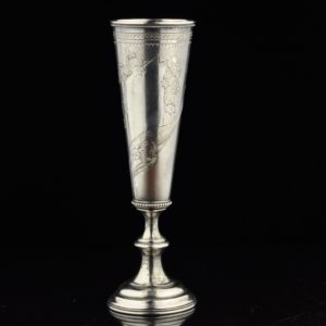 Imperial Russian silver 84 chalice
