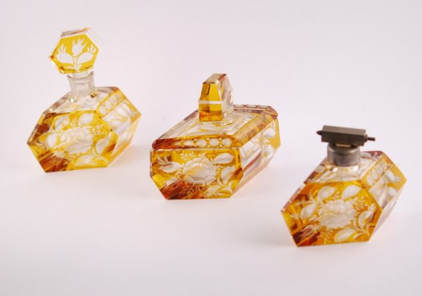 Tualettlaua komplekt - kristall, etsing UUS HIND 350.-!