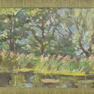 Peeter Magnus Romann Tarvas (kuni 1940 Treumann) Väike metsa pilt