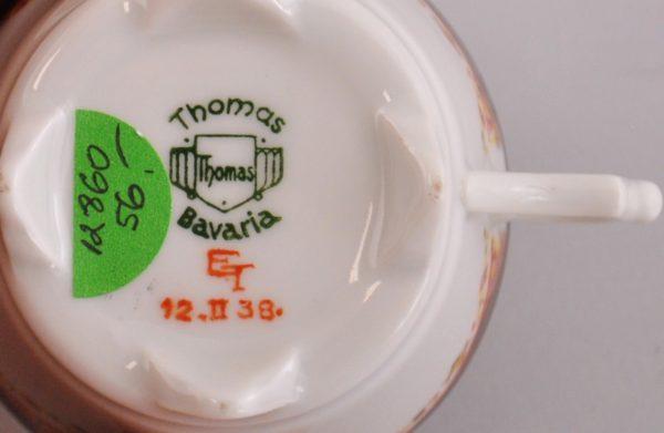 """Väike tass, Langebraun, käsimaaling ET 12.02.38"""""""""""