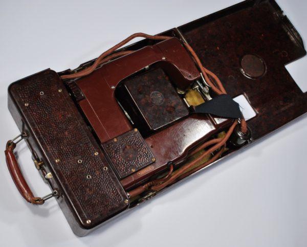 Vana elektri õmblusmasin bakeliit korpusega