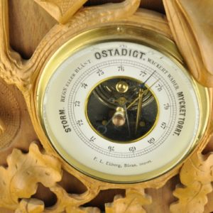 Old barometer for hunting