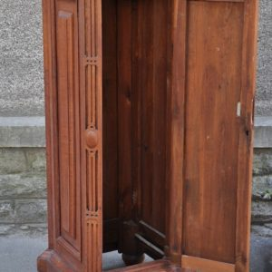 An old cabinet-post