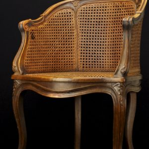 Antique writing desk chair