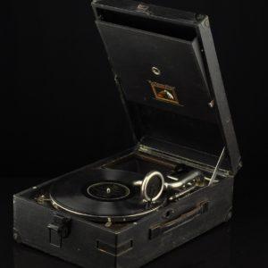 """Vanaaegne kohver-grammofon Master's Voice"""" MÜÜDUD"""""""