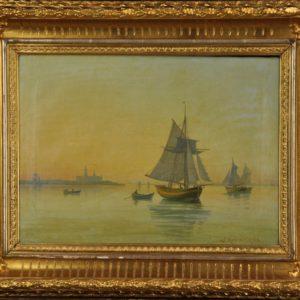 Oil painting Sea