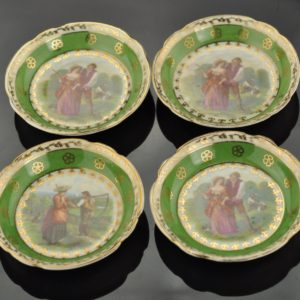"Antique Porcelain Small Basis ""Dmitrovsky Verbilki"" Russia 1927-27"