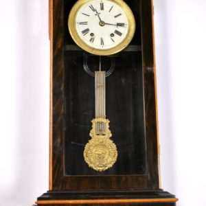 Antique wall clock, 19th century.