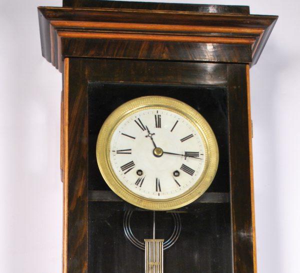 Antique wall clock, 19th century.