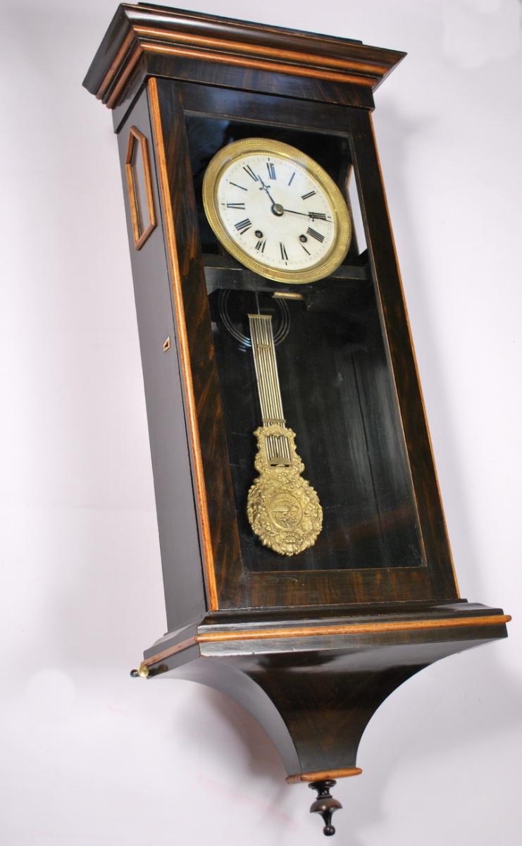 Antique Wall Clock 19th Century Idla Antiik