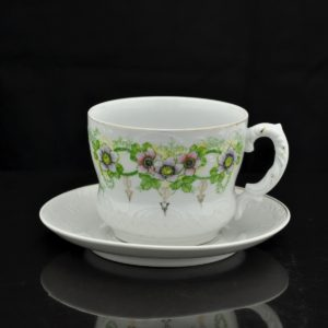 Antique big porcelain cup in Germany
