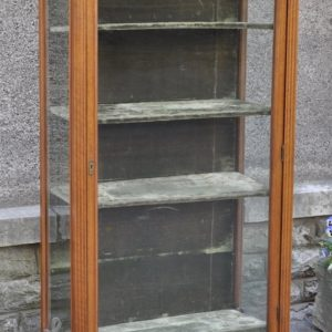 Antique vitrine cabinet