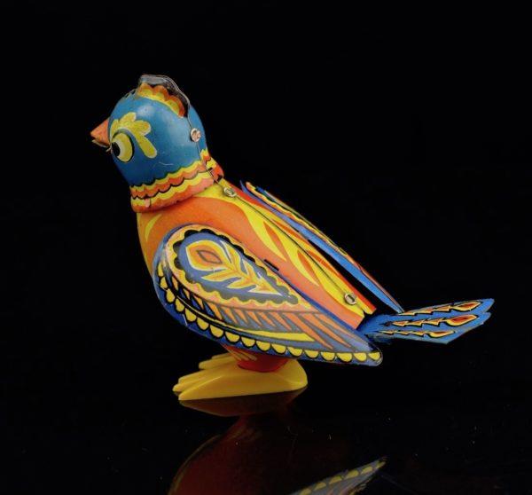 """Vene üleskeeratav mänguasi """"Laulev lind"""""""