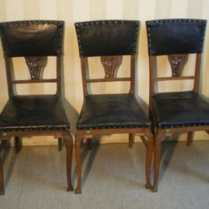 Five chairs, Art Nouveau 310.-!!!