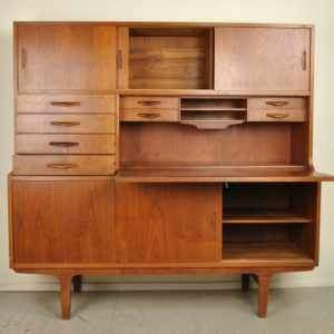 Vintage Sekretär kapp, lükandustega