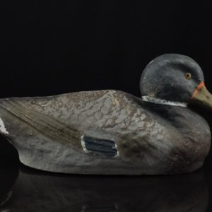 Vintage paper mache duck Higgins Life - Like Decoy Duck