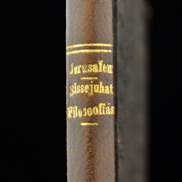 """Wilhelm Jerusalem """"Sissejuhatus filosoofiasse"""" 1922 a"""