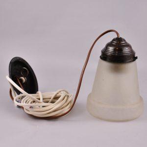 Ühe kupliga lamp