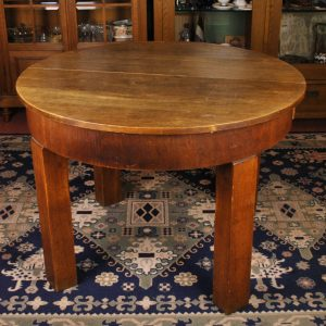 Round dining table 1930y