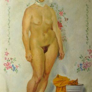 "Oil painting ""Akt"" S. Voronina"