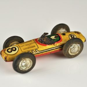 Antique Tin Toy racing car