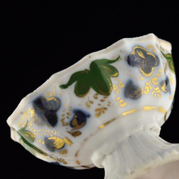 Antiikne Gardneri soolatoos, portselan käsimaaling